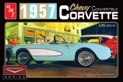 1957 Chevy Corvette Convertible (Vit)