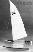 Hobie Cat 356mm Träbyggsats