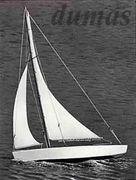 Ace Sloop 432mm Träbyggsats