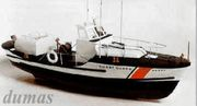 US Coast Guard Lifeboat 838mm Träbyggsats