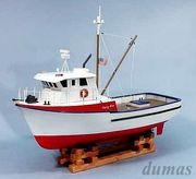 The Jolly Jay Fishing Trawler 610mm Träbyggsats#