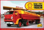 Dodge L700 w/Shell Tanker 1/25