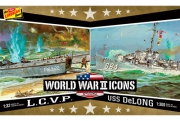 WWII LCVP & USS DeLong 2-pack