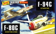 US & Korean War fighter 2-pack 1/48