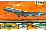 British Jetliner DeHavilland Comet 1/144