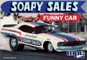 Soapy Sales Dodge Challenger Funny Car 1/25