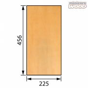 Basswood Plywood 1.5x225x456 mm 3-ply