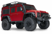 Traxxas TRX-4 Scale & Trail Crawler Land Rover Defender RTR Röd