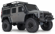 TRX-4 Scale & Trail Crawler Land Rover Defender Silver RTR