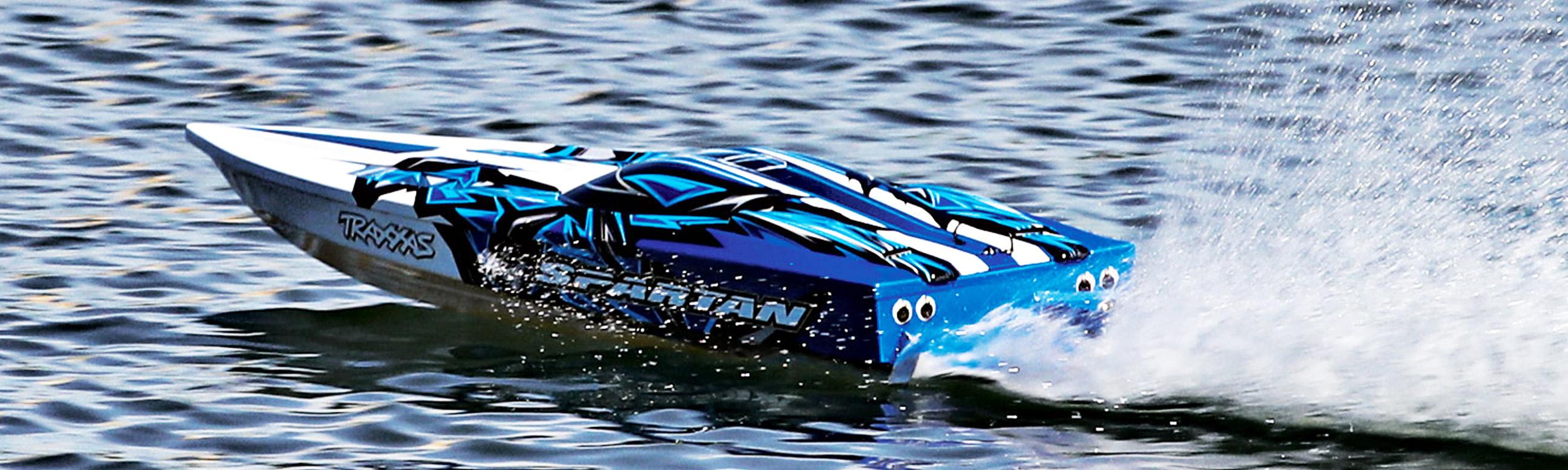 Traxxas Spartan Brushless Elbåt